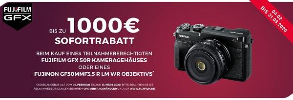 Foto Meyer Berlin Cashback und Sparaktionen:  FUJIFILM GFX SOFORTRABATT