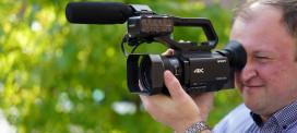 Filmen mit Profi-Camcordern von Sony