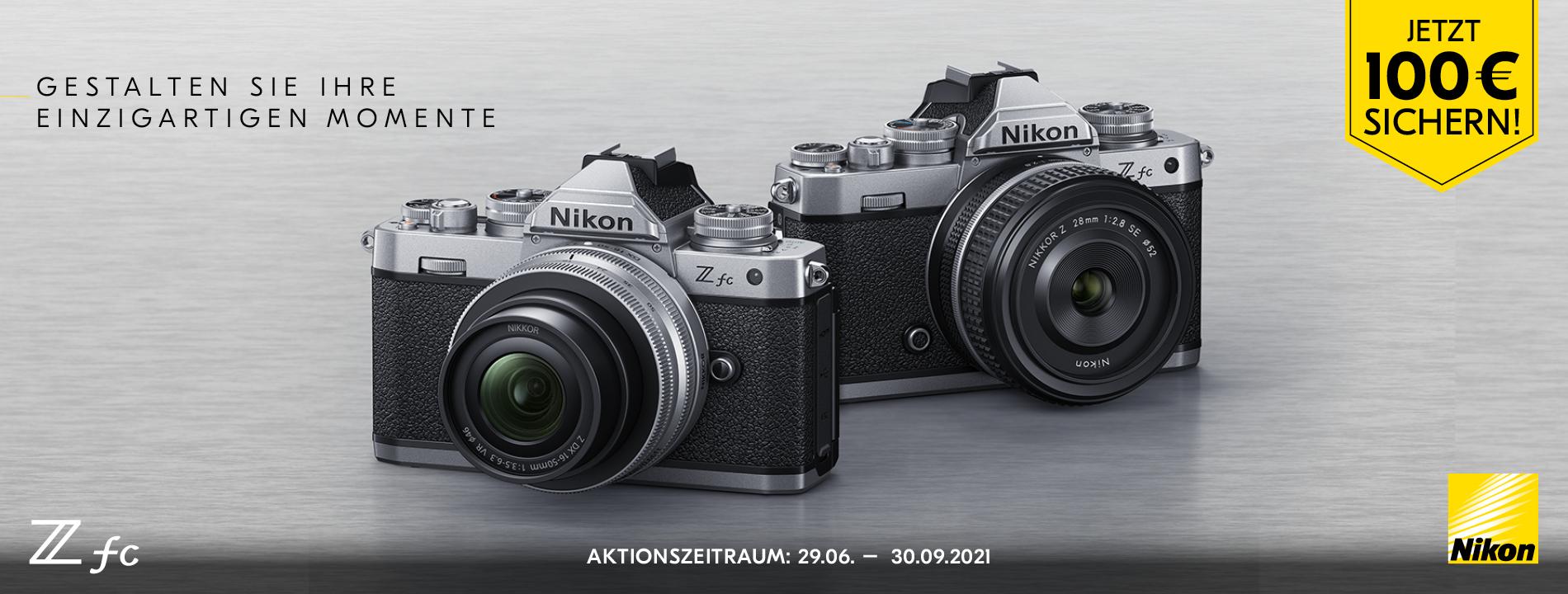Foto Meyer Berlin Cashback und Sparaktionen:  NIKON Z fc AKTION
