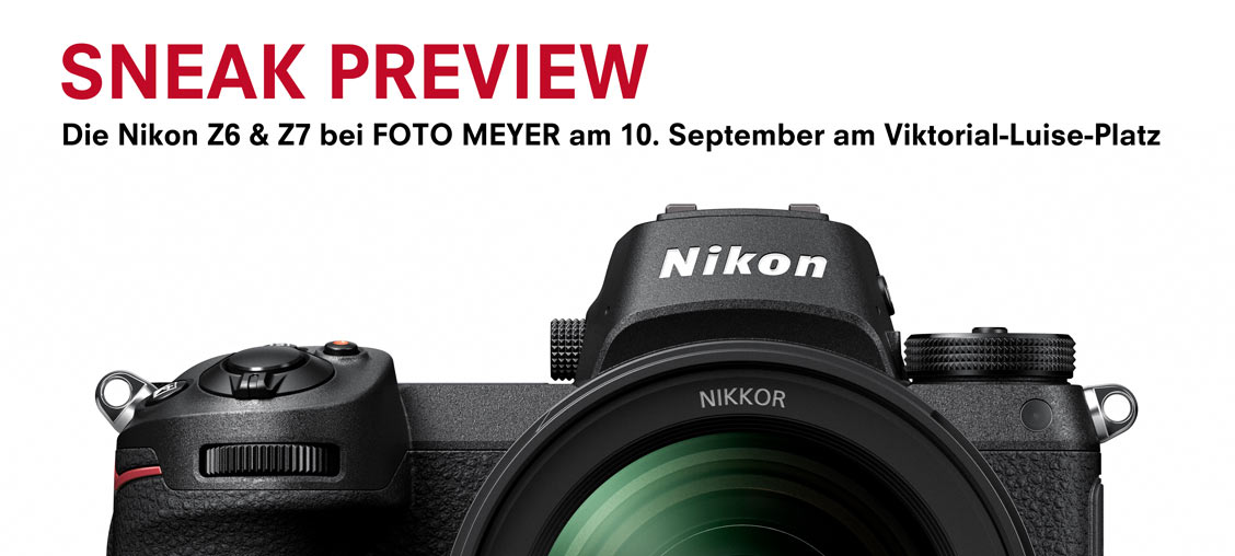 SNEAK PREVIEW MIT DER NIKON Z7