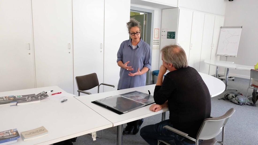FOTOTAGE 2018 Rückblick: Portfolio Review mit Dr. Katharina Hausel