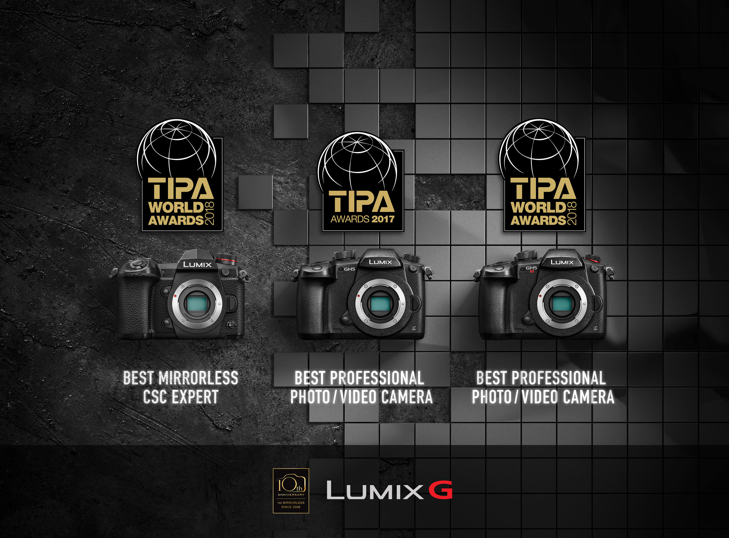 Panasonic gewinnt drei TIPA-Awards