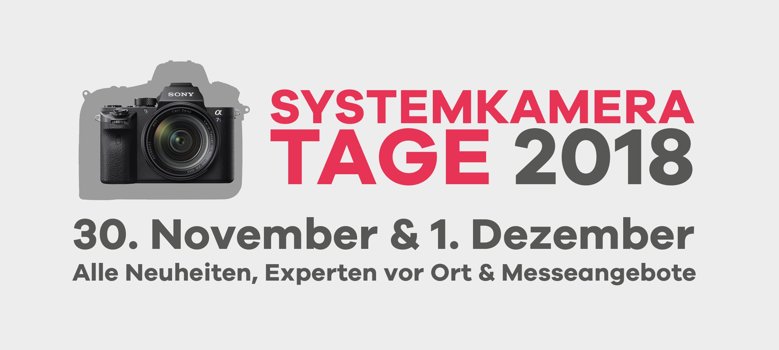 Systemkameratage 2018
