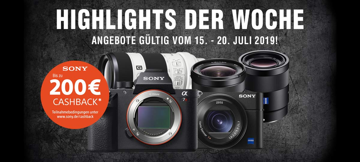 SONY SOMMER AKTIONSWOCHE