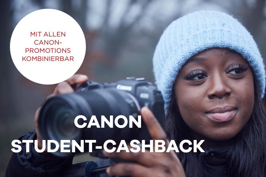 Foto Meyer Berlin Cashback und Sparaktionen:  CANON STUDENT-CASHBACK