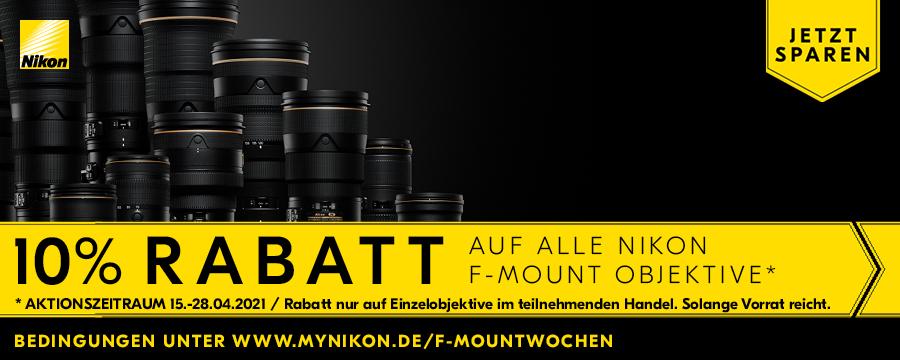 Foto Meyer Berlin Cashback und Sparaktionen:  NIKON F-MOUNT AKTION