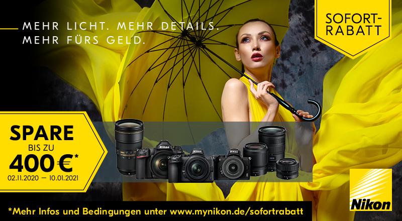 Foto Meyer Berlin Cashback und Sparaktionen:  NIKON WINTER SOFORTRABATT