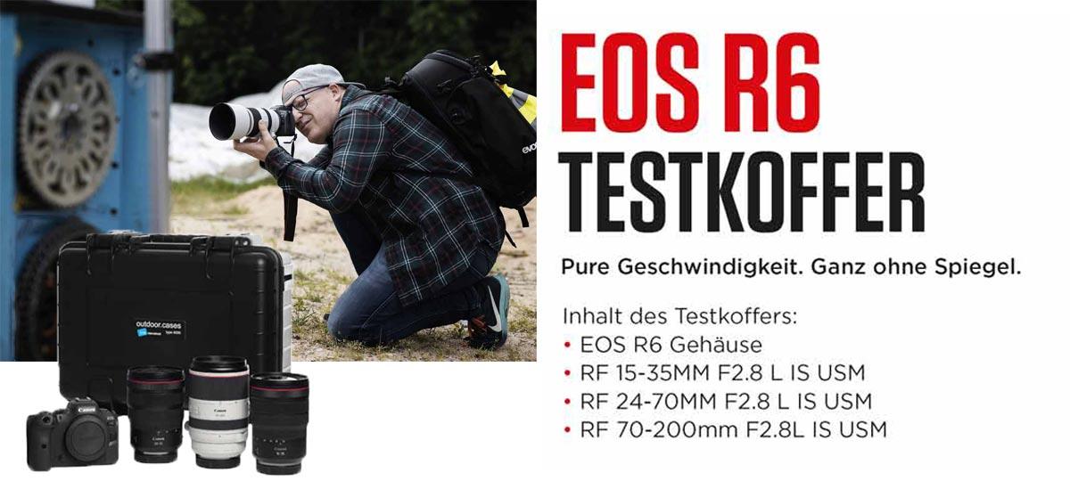CANON EOS R6 TESTKOFFER